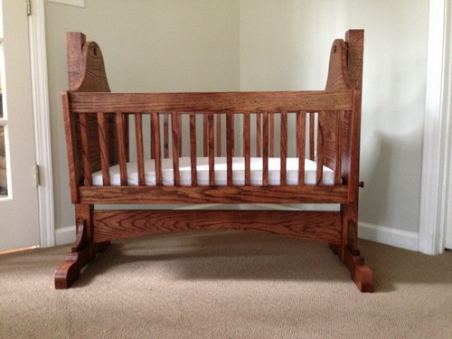 Baby Cradle Woodworking