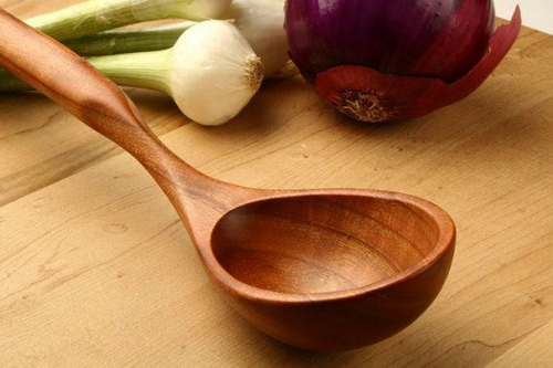 Wooden Spoons and Ladles
