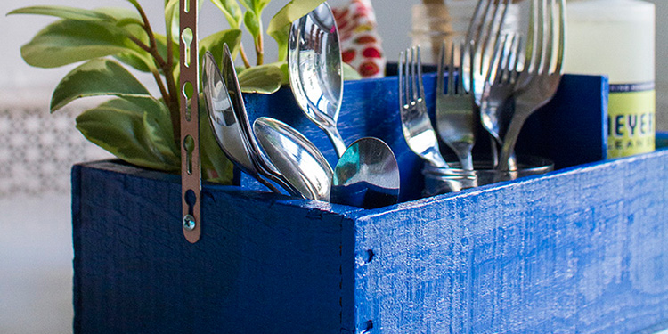 How to make an Utensil Organiser
