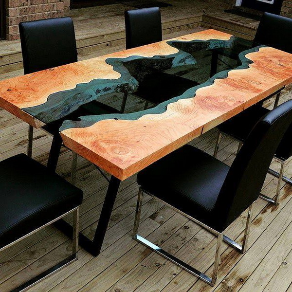 Wild About Wood Table
