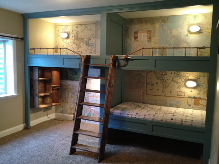 15 Best Bunk Bed Ideas (10)