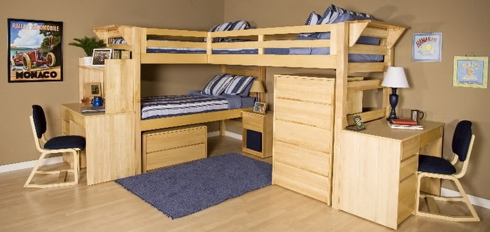 15 Best Bunk Bed Ideas (13)