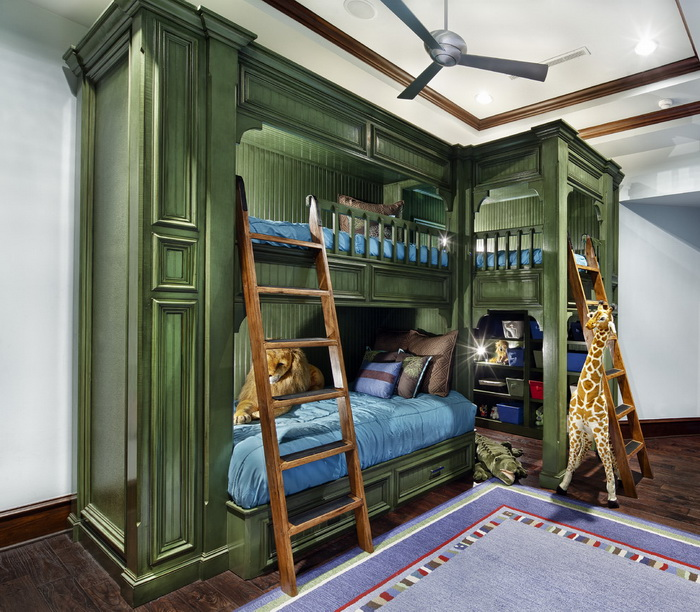 Unique Kids Room: 15 Best Bunk Bed Ideas To Get You Inspired