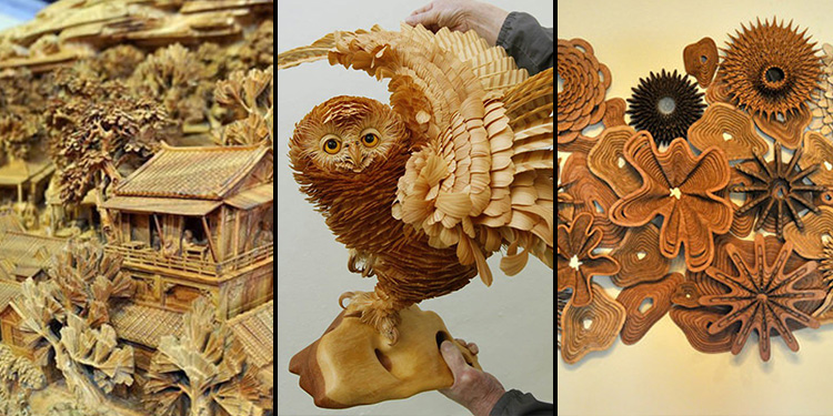 40 Awesome Wooden Sculptures