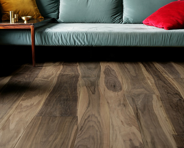 Curved Hardwood Floors