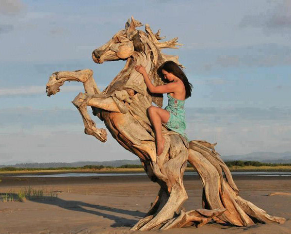 Driftwood Sculptures by Jeff Uitto 3