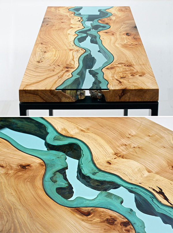 Glass River Tables