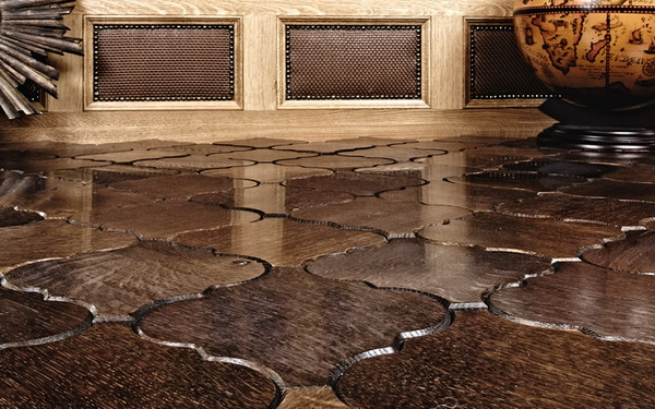 Interlocking Wood Floor Tiles