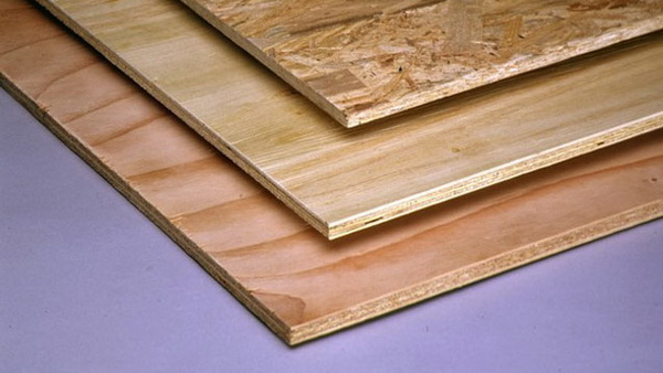 Plywood and Oriented Strand Board