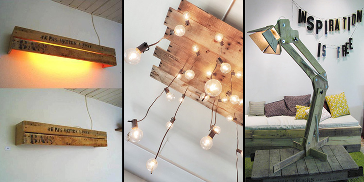Best Creative Ways to Recycle Wood Pallets into Lamps