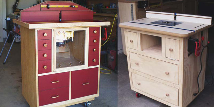 Top 10 Free DIY Router Table Plans & Idea