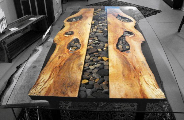 Steel Root Furniture Table