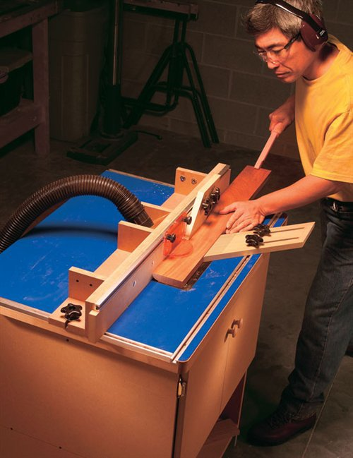 American Woodworker Router Table