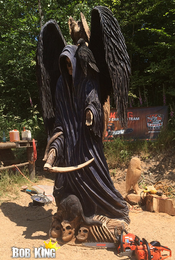 Chainsaw Carving by Bob King 3