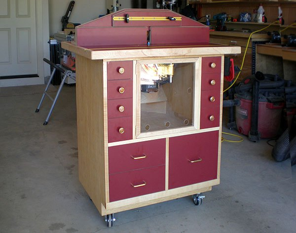 Creston Wood Router Table Plans
