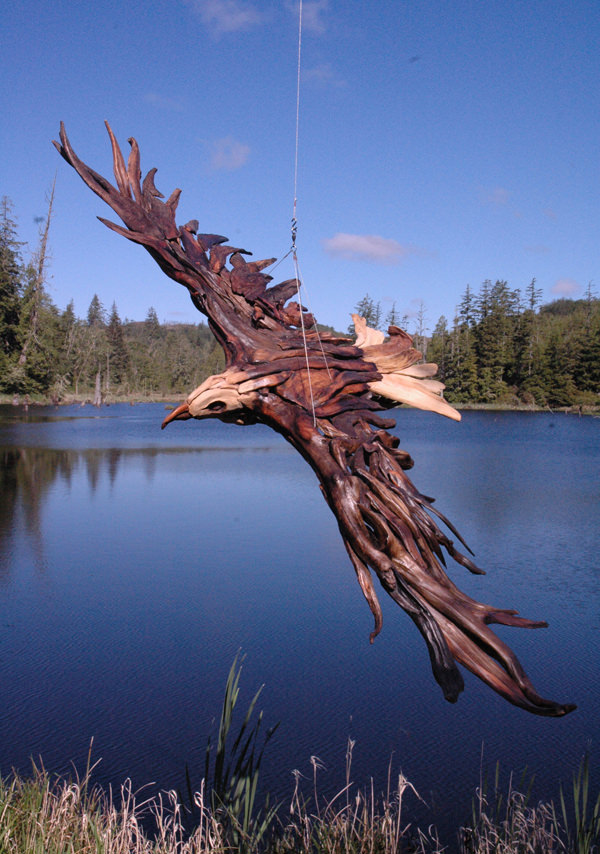 Driftwood Sculptures by Jeff Uitto 2
