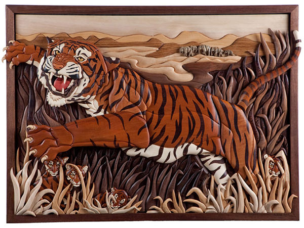 Intarsia Mural by Kathy Wise 2