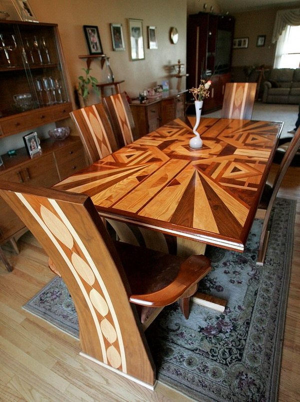 15 Of The Most Awesome Wooden Table Designs Ever - My ...
